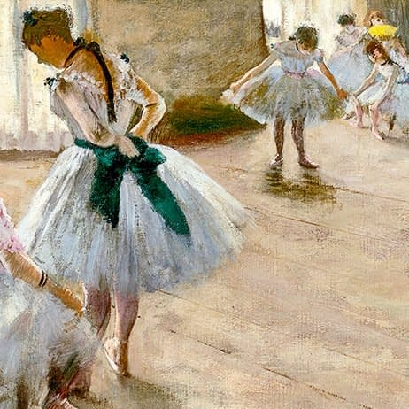The Dance Lesson | Edgar Degas | 1879