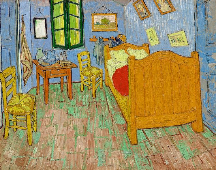 the bedroom vincent van gogh