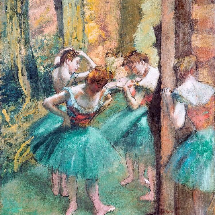 Dancers Pink and Green | Edgar Degas | 1890