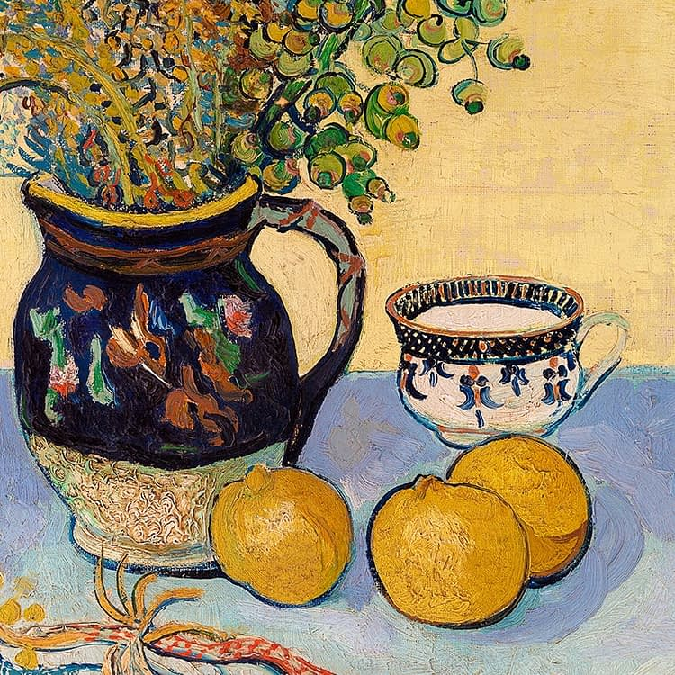 Still Life | Nature Morte | Vincent Van Gogh | 1888