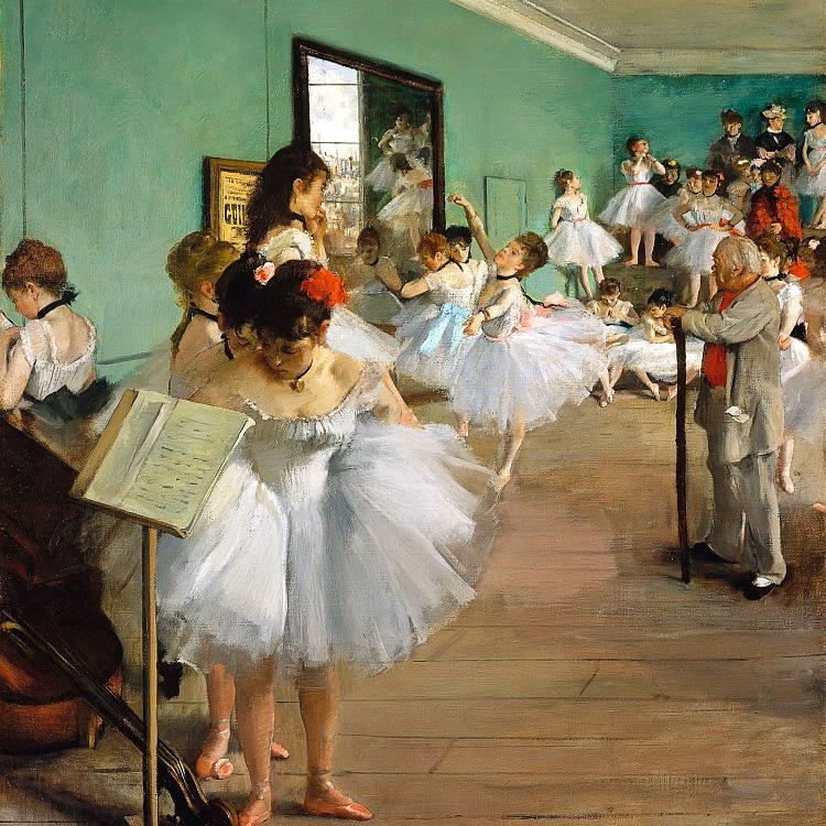 the dance class edgar degas