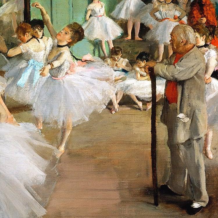 The Dance Class | Edgar Degas | 1874