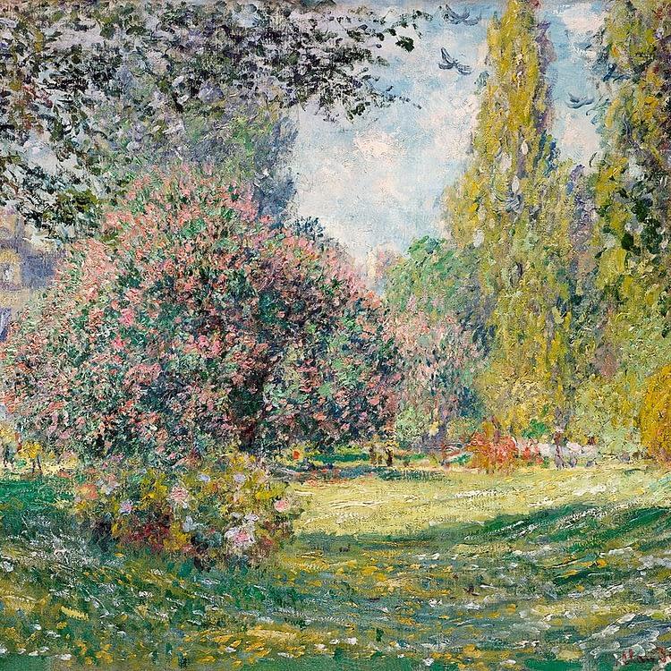 Le Parc Monceau | Claude Monet | 1878