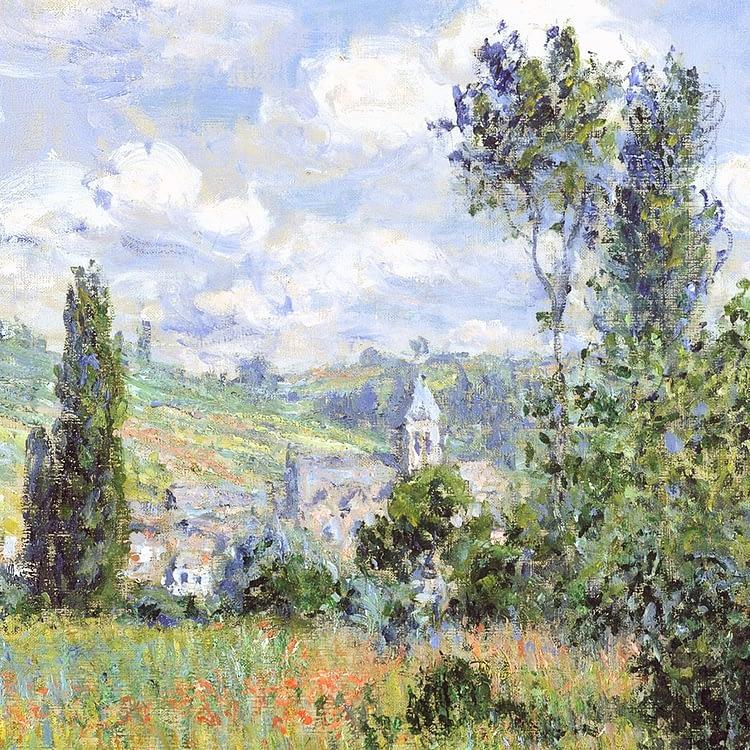 View of Vétheuil | Claude Monet | 1880