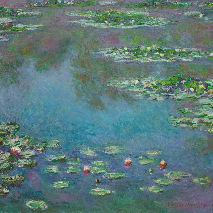 Water Lilies | Claude Monet | 1906