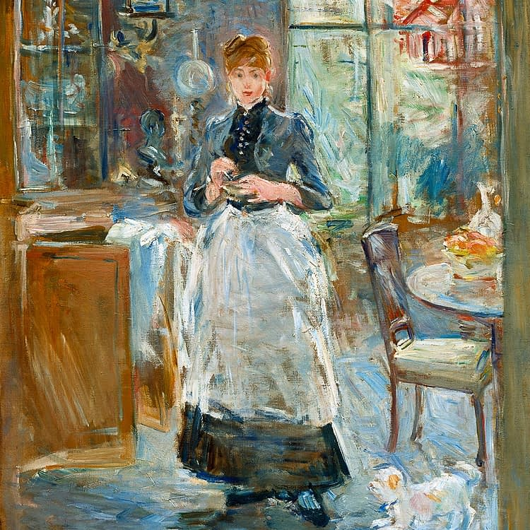 In The Dining Room | Berthe Morisot | 1886